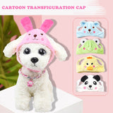 Funny Cosplay Cotton Cute Dog Hat Puppy Cap Pets Products  Pet Accessories 1 Pcs