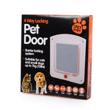 Hot Sale Lockable Cat Flap Door Kitten Dog Pet Lock Suitable for Any Wall or Door
