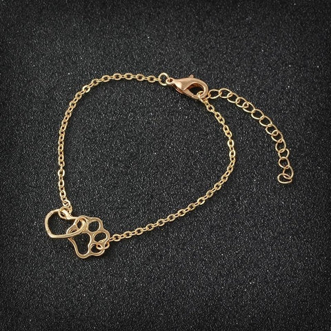 Claw Minimalism Link Bracelet Animal Pet Jewelry Bracelet For Pet lover