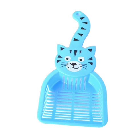 Lovely Plastic Cat Litter Scoop Dog Food Scoops Sand Waste Scooper
