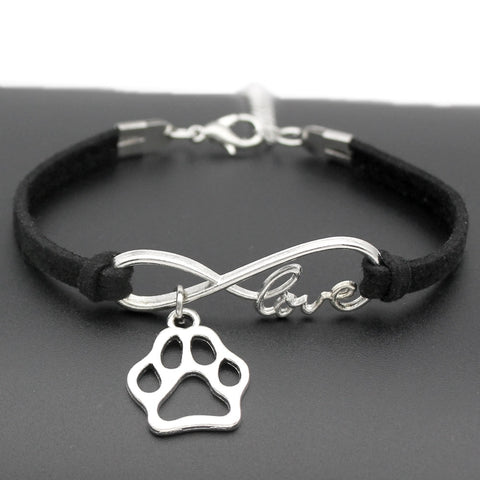 Cat Animal Bear Paw Charms Pendant Bracelet Friendship Gift