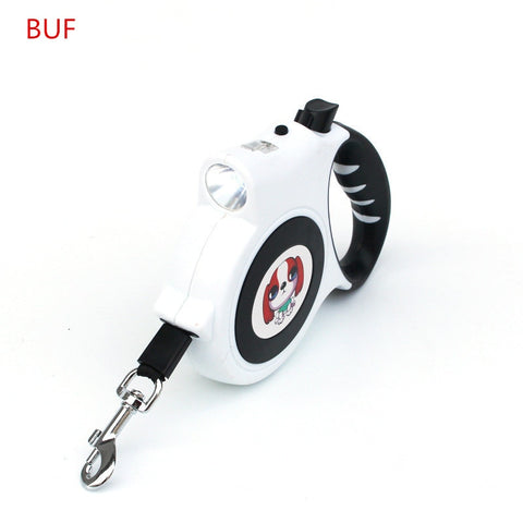 Pet Products Polyester Leash Dog Accessory Automatic Retractable Traction