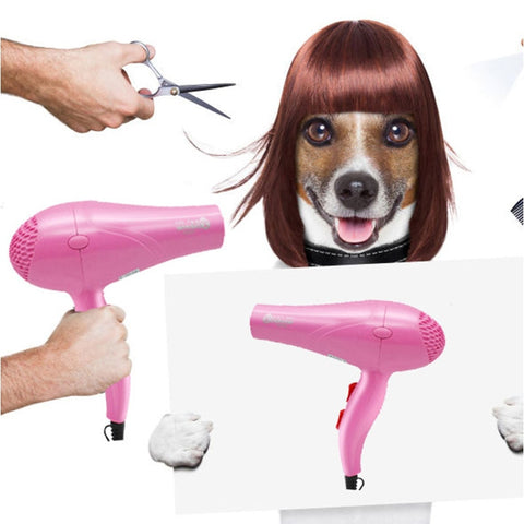 Pink dryer Cat and dog beauty products