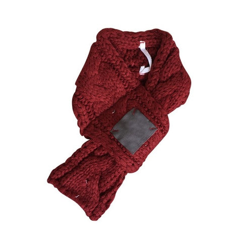 New Autumn and Winter Pet Products Cute Scarf