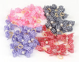 Small Dogs Bows Hair Accessories Yorkshire terrier Supplies For Pets