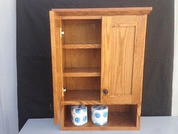 Bathroom Vanity &  Vanity Cabinet Oak Wood Shaker Style with Medium Finish