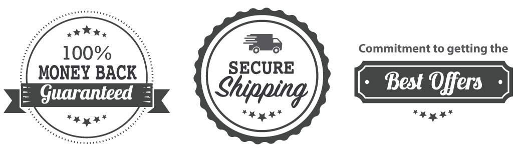 100% Money Back Guarantee, Secure Shipping, Best Deals
