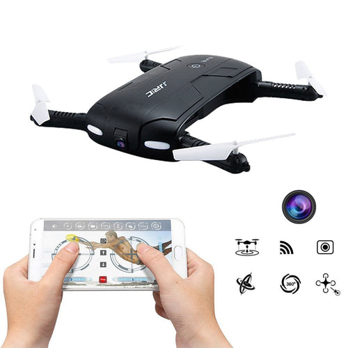 Selfie Drone ELFIE JJRC H37 - Portable Quadcopter HD Camera