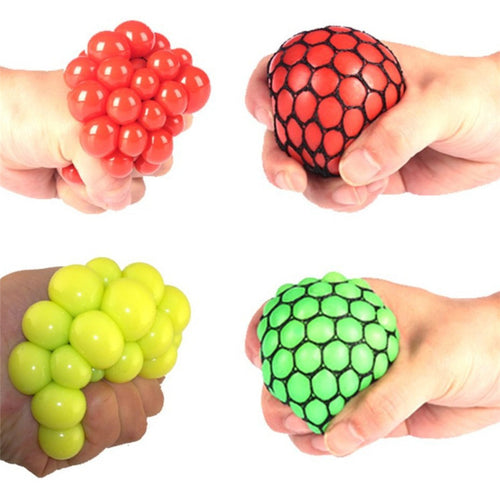 Fidget Squishy Mesh Ball