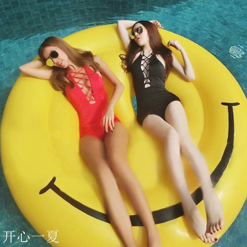 Smile Face Inflatable Floatie
