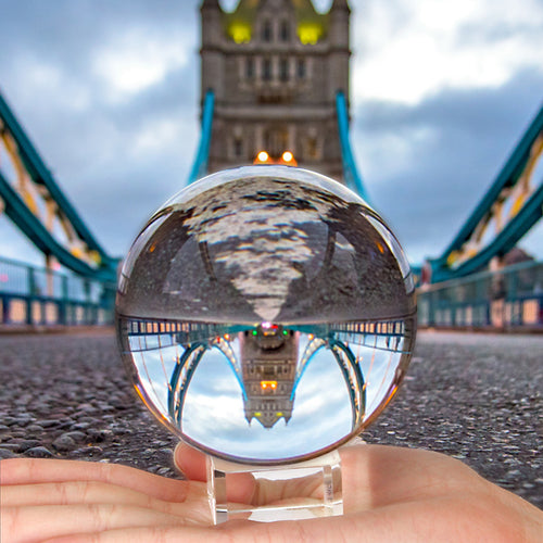 Crystal Ball Lens Photography