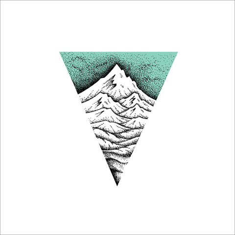 Mountain Layers Stipple