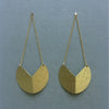 Folded Brass Earrings (no.19)