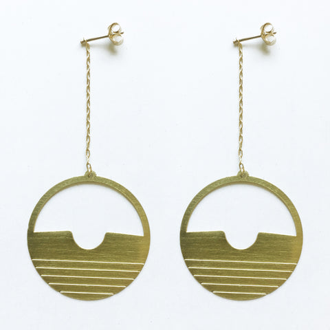 Brass Earrings (no.11)