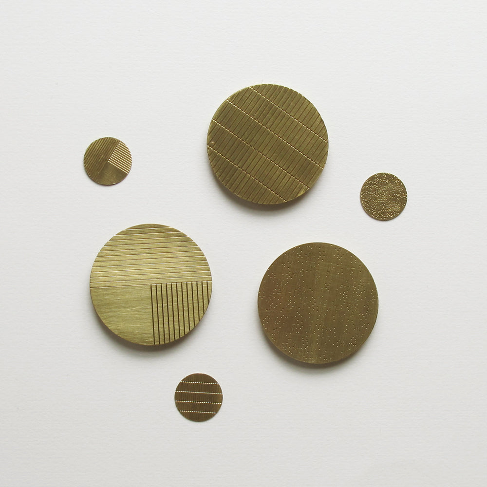 Brass Brooches