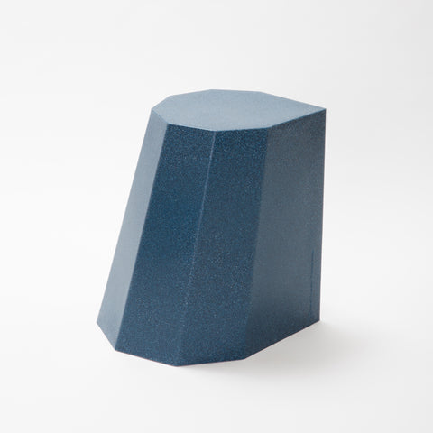 Arnold Circus Stool - Mottled Blue