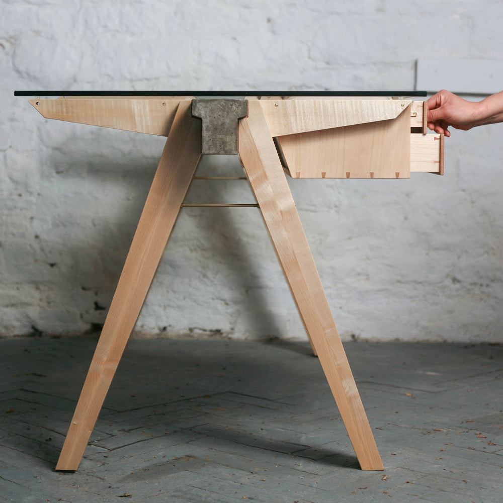 BEAM Desk + Drawers