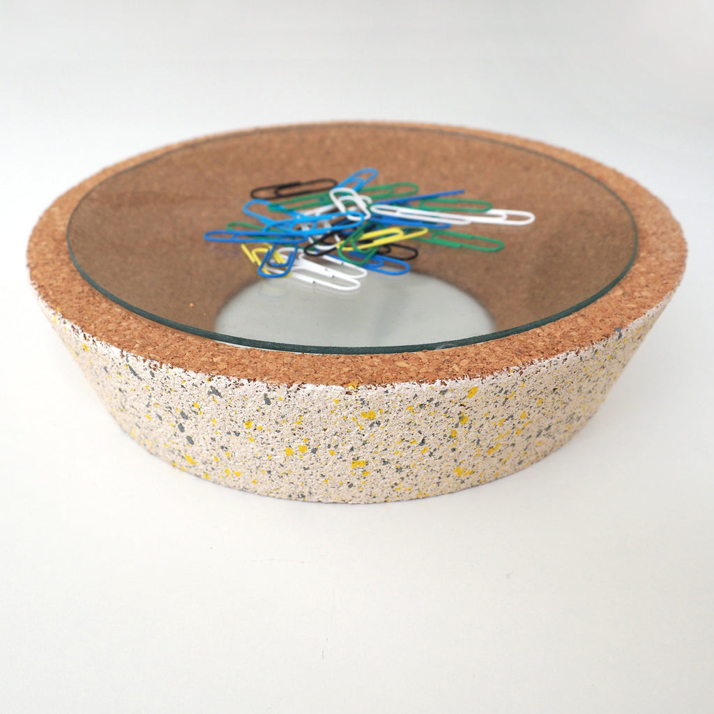 Cork/Glass Dishes