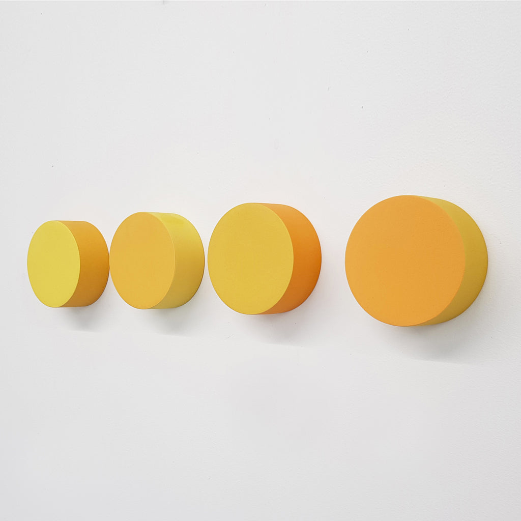 Dots Set 4 - Two Tone Yellow - Orange