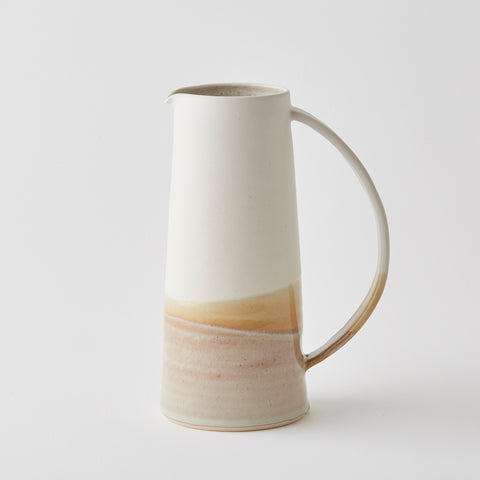 Rainbow Medium Jug White/Stone Gloss