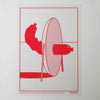 Risograph Prints Route 57 Red