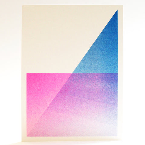 Riso Print Greeting Cards