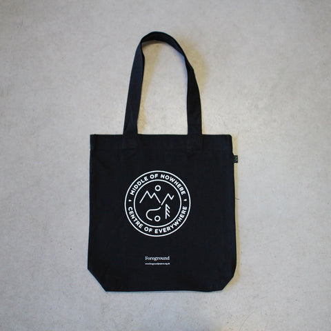 Middle of Nowhere Centre of Everywhere Tote Bag