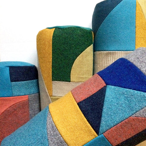 Patchwork Bolster Cushions