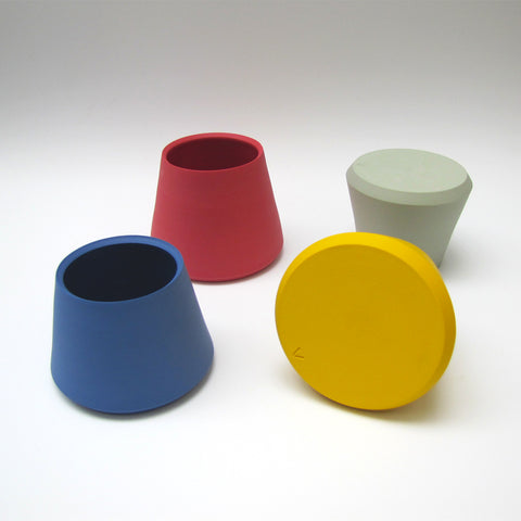 Tapered Porcelain Vessels