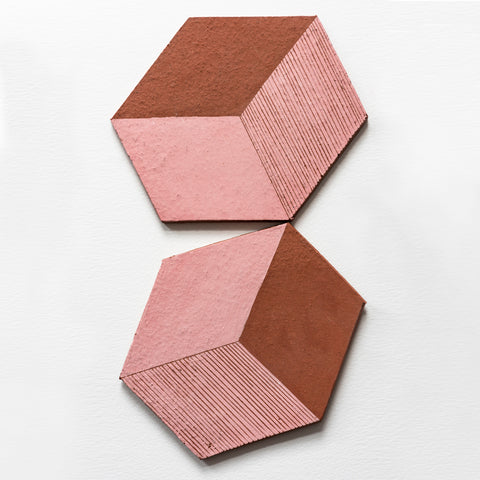 Irregular Hexagon Tiles Large