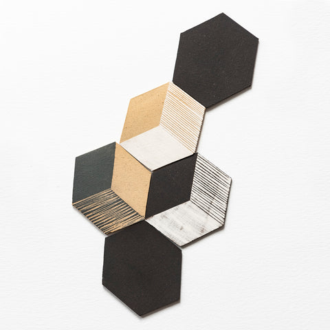 Irregular Hexagon Tiles Small