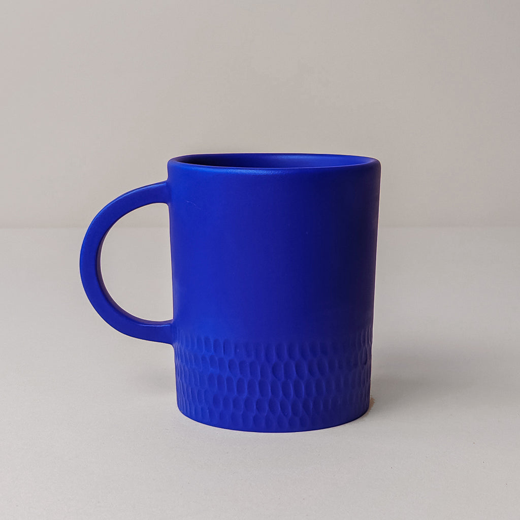 Large Cobalt Blue Mug