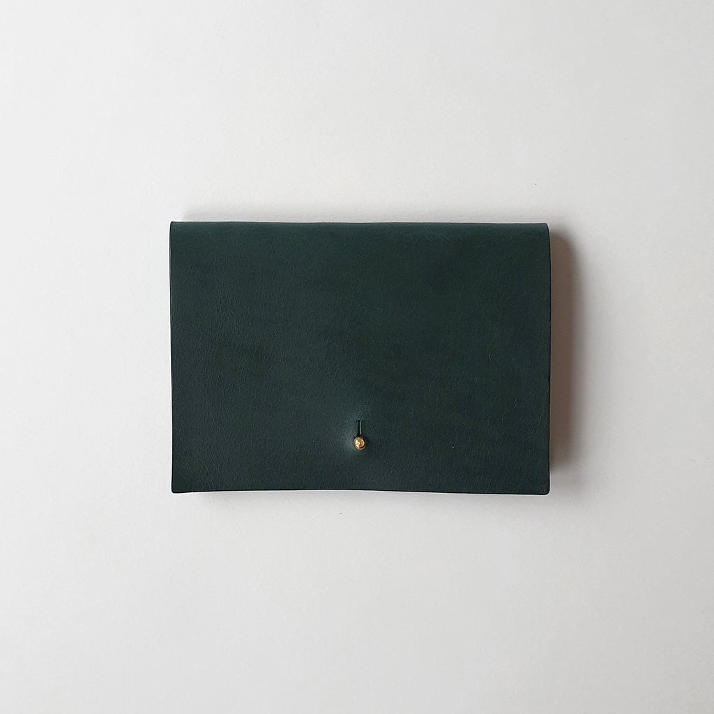Leather Wallet in Forest
