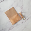 Leather Wallet in Natural
