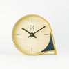 Maple Mantle Clock in Navy