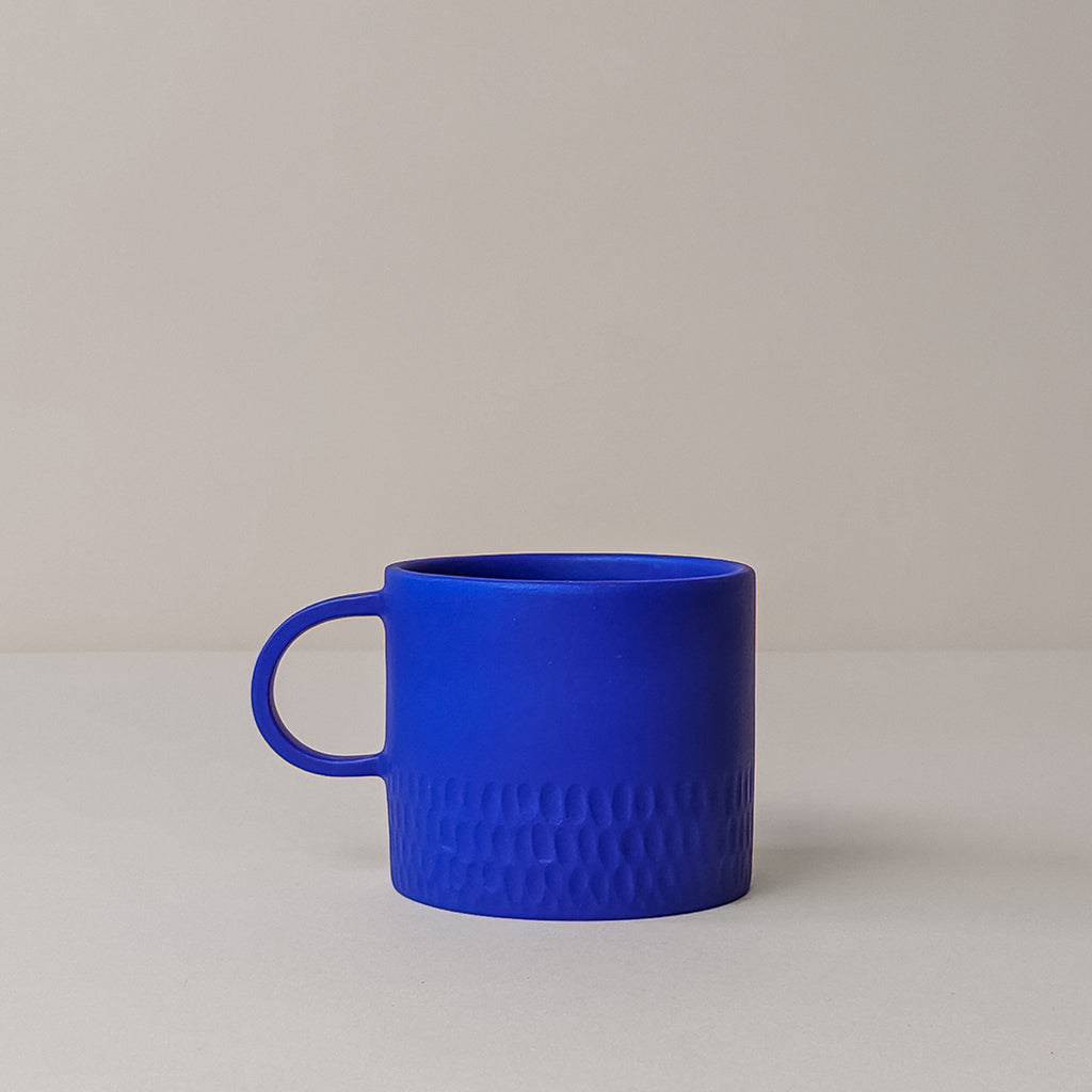 Medium Cobalt Blue Mug