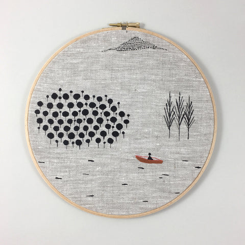 Wall Hanging Medium Boat