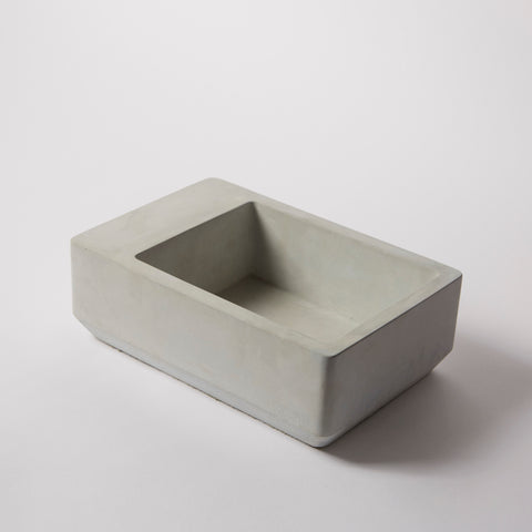 Mulberry B Concrete Bowl Grey
