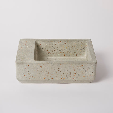 Mulberry B Concrete Bowl Mottled