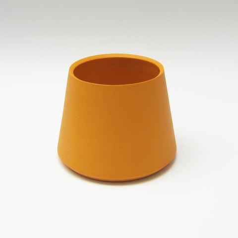 Trix Orange Tapered Porcelain Vessels