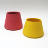 Amaranth Red Tapered Porcelain Vessels