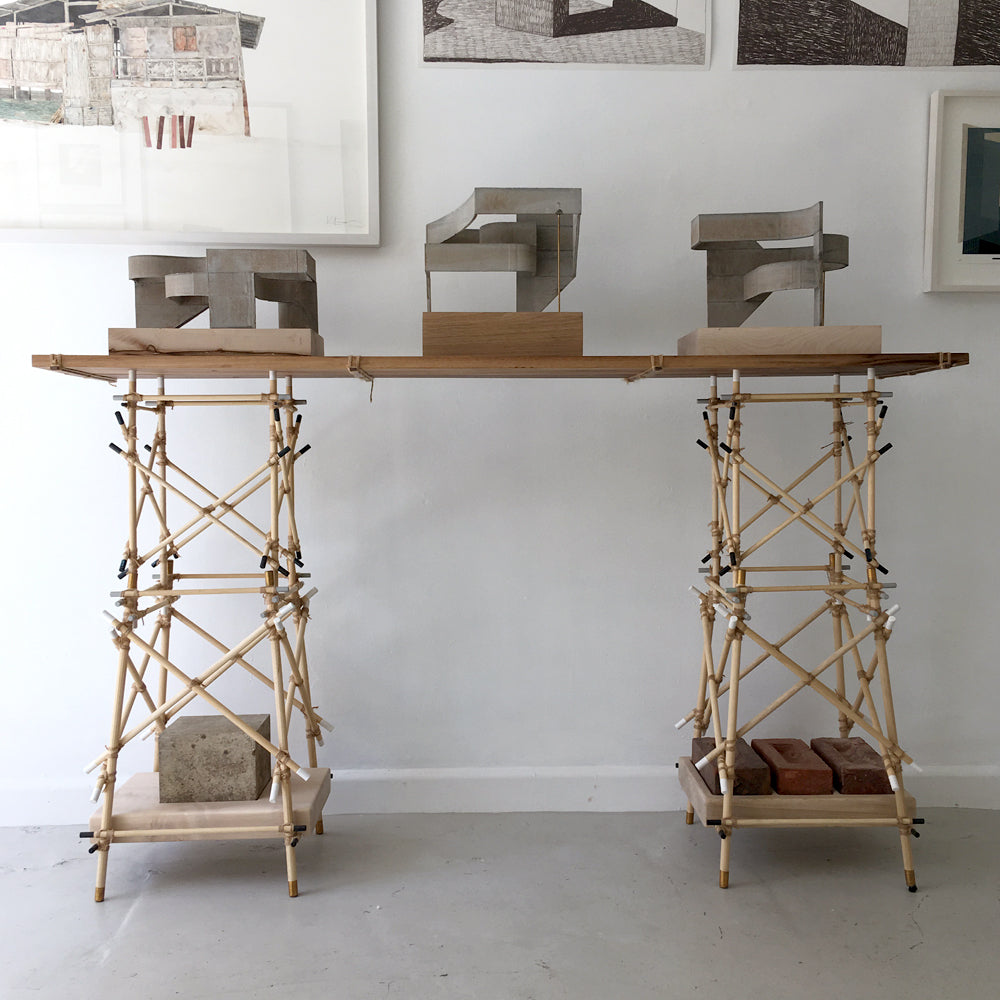 Pioneering Console Table
