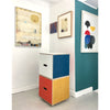 Plaey Stack Stools (set of 3) - Bauhaus Colours