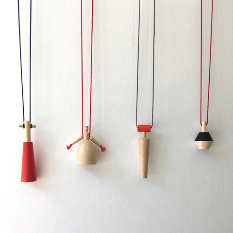 Sycamore/Painted Pendant Necklaces