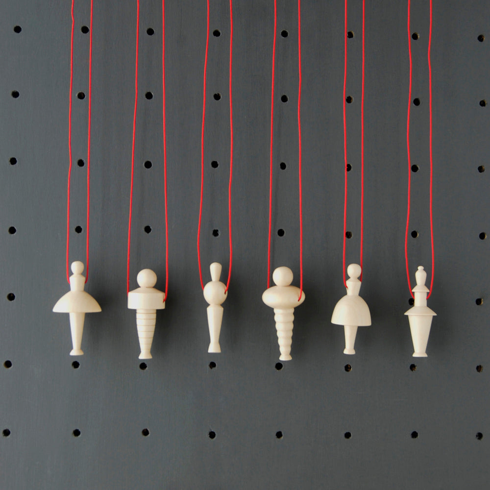 Triadic Ballet Sycamore Pendant Collection