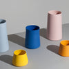 Klein Blue Tapered Porcelain Vessels