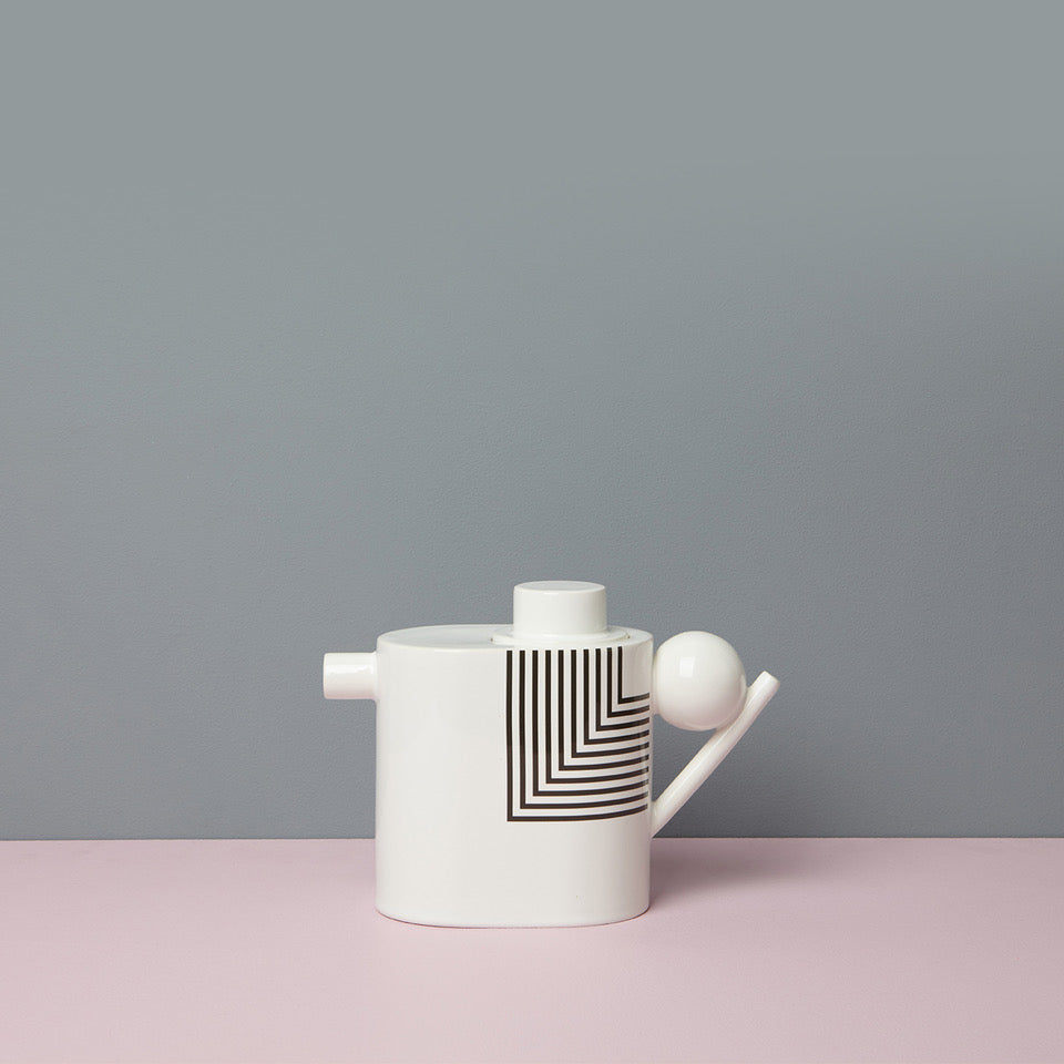 Zylinder Tea Pot - patterned