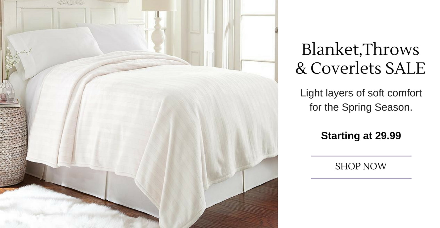 blankets, throws and coverlets