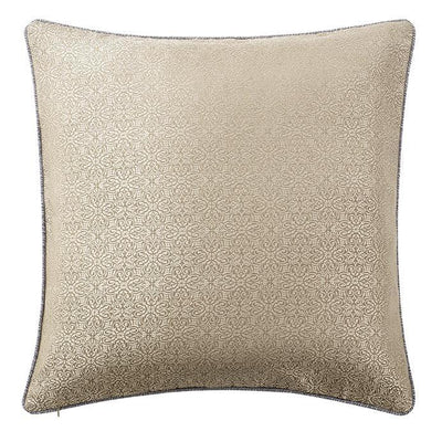 Carrick Silver/Antique Gold Euro Sham Euro Shams By Waterford