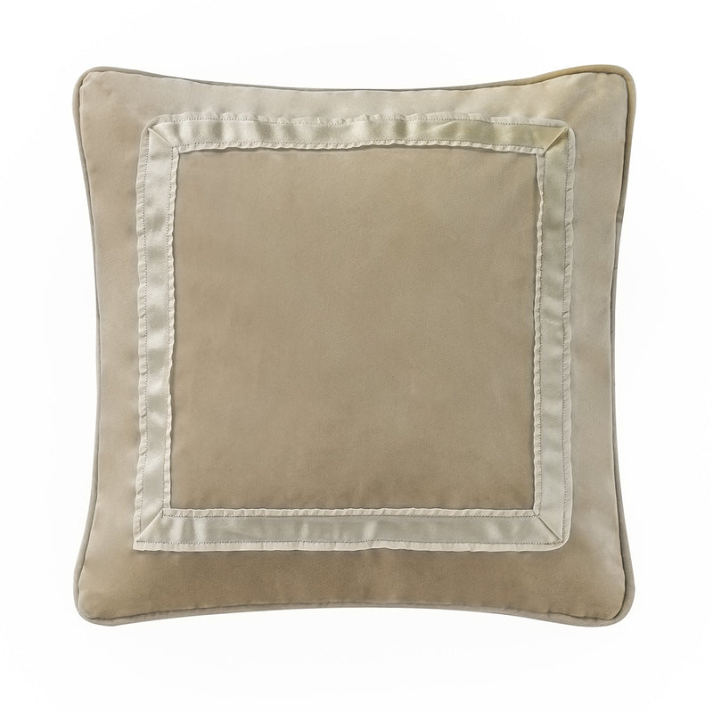 "Pillows Ansonia Ivory Dec Pillow 14""X14"" by Waterford Latest Bedding"